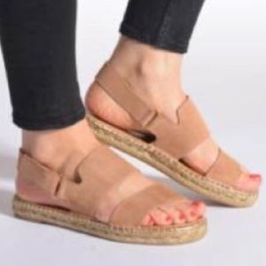 Anthropologie Maypol MOOS Leather Sandals 41